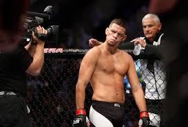 Nate Diaz last fight ...