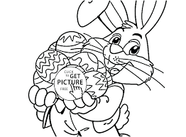 Free Printable Easter Bunny Colouring Pages Bunny Pages To Color