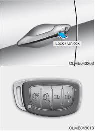 car door lock button. Hyundai Tucson: \u003cb\u003eOperating Door Locks From Outside The Vehicle\u003c\/b Car Lock Button