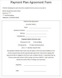 Payment Plan Template Payment Plan Agreement Template Free Word Pdf Documents Doc