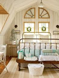 white beadboard bedroom furniture. Vintage White Beadboard With Antique Metal Bed For Classic Bedroom Decorating Ideas Furniture L