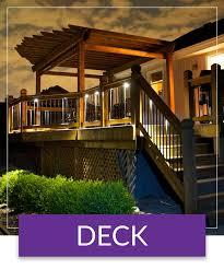 deck lighting. Deck Lighting Deck Lighting
