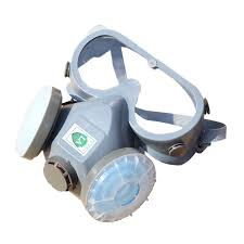 working dual filter dust spray paint chemical gas respirator mask gl set blue half mask respirators gas masks in respirator from security