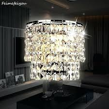 classic crystal chandelier wall light gold crystalline sconce lamp led foyer living room glass parts glass drops chandelier 3 light