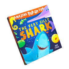bolehdeals early childhood education kids story book 3d pop up books hardcover shark