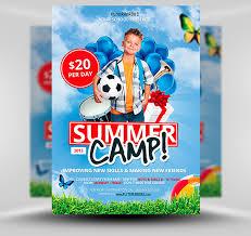 Free Summer Soccer Camp Flyer Template Flyerheroes