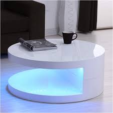 round white gloss coffee table fresh tiffany led round top white
