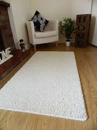 Machine Washable Rugs For Living Room Non Slip Medium Sized Plain Washable Ivory Cream Bedroom Mats