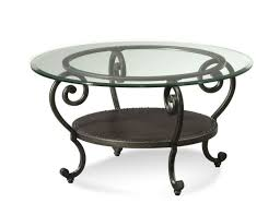 amazing modern round glass coffee table metal base how to decorate interior black color with chro