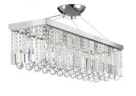 inch rectangular glass drop chandelier crystal small home depot lighting modern weston black 40 recta