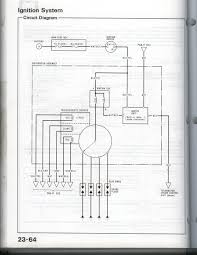 wiring diagram for a si mpfi distributor honda tech notice the mis spell clank