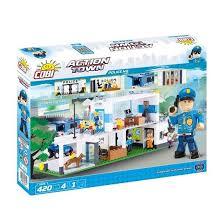 <b>Конструктор COBI</b> Штаб-квартира <b>полиции</b> 420 деталей (COBI ...