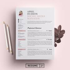 Social Media Resume Templates Download Now Social Media Resume
