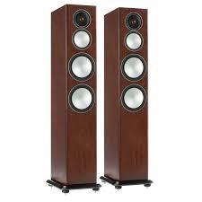 Купить <b>Напольные</b> колонки <b>Monitor Audio</b> Silver 8 Walnut в ...