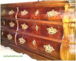 Vintage Henredon Bedroom Furniture Queen 6 Piece Bedroom Set Antique ...