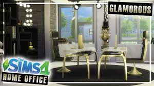 build home office. The Sims 4 Room Build || Glamorous Home Office - No CC