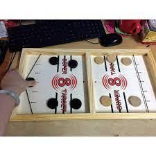 Đồ chơi Cờ búng Pucket game bằng gỗ XCToys No.2440 dành cho bé 3 tuổi