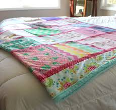 Extra Large Custom Baby Clothes Quilt Memory Blanket & Like this item? Adamdwight.com