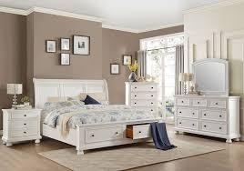 Laurelin White Queen Storage Bedroom Set
