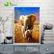 african elephants canvas wall art pictures paintings home decor modular wall picture for living room hd on african elephant canvas wall art with african elephants canvas wall art pictures paintings home decor