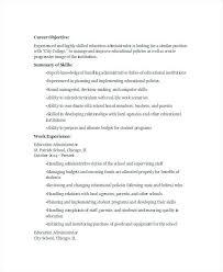 Educational Resume Format – Banri