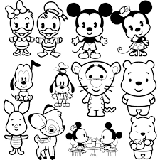 Small Picture Printable 27 Disney Cuties Coloring Pages 9315 Disney Cuties