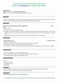 ... Sample Resume format for Mba Finance Freshers Best Of Mba Resume Samples]  Mba Resume Template ...