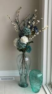 Photo 3 of 9 Sea Glass Floor Vase With Flowers. (amazing Glass Floor Vase  #3)