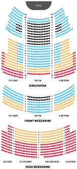 Town Hall Nyc Seating Chart Inspirational Majestic Theatre