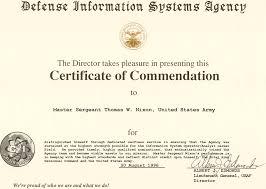 Commendation Certificate Sample 2 Fix Ablez