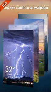 3D Weather Live Wallpaper for Free APK ...