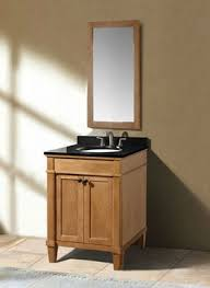 24 vanity with granite top. classic 24 inch weathered oak bathroom vanity black granite top with
