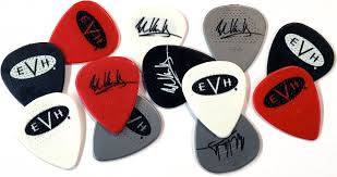 evh wolfgang bridge pickup black and white van halen store evh signature picks 6 pack