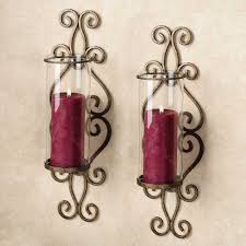 white wall candle holders mirrored candle sconce mirror candle
