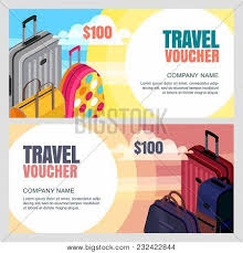 travel voucher template free vector travel voucher vector photo free trial bigstock