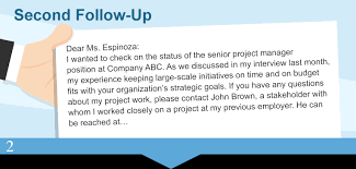 7 Follow Up Letter After Interview Expense Report Follow Up Letter