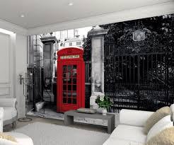 Carta da parati londra la cabina telefonica rossa europosters.it