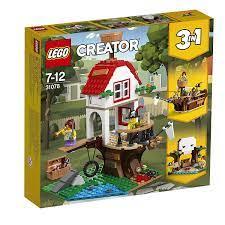 Mô Hình LEGO Creator 31078 - Mô Hình Ngôi Nhà Hải Tặc - Thuyền Cướp Biển -  Kho Báu 3-trong-1 (LEGO Creator 31078 Treehouse Treasures)