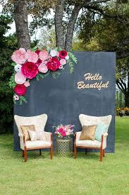 14 diy paper flower photo booth backdrop