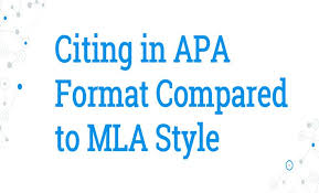 Citation Apa Format Citing In Apa Format Compared To Mla Referencing Style