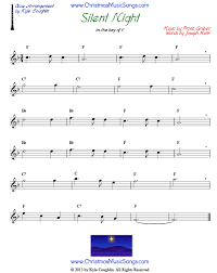 sheet music silent night silent night for oboe free sheet music