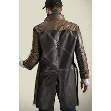 aiden pearce watch dog trench coat