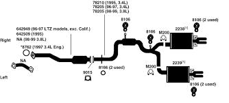 similiar lumina parts catalog keywords 1996 chevrolet lumina exhaust diagram category exhaust diagram