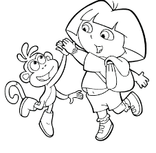 Dora Easter Coloring Pages Coloring Pages Coloring Pages To Print