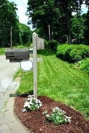mailbox landscaping with culvert. Plain Culvert Mailbox Landscaping  For Mailbox Landscaping With Culvert