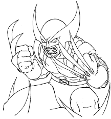 Small Picture Download Coloring Pages Wolverine Coloring Pages Wolverine And
