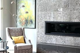 repose gray tile fireplace surround with floating hearth and linear gas insert kylie m interiors decorating gray tile fireplace