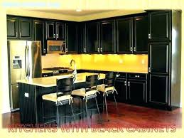 wonderful kitchens pictures new kitchen ideas colors with black cabinets solid wood island seating and white appliances t9 and