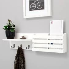 Wall Mounted Coat Rack With Storage French Vintage Style Wall Mounted Coat Hooks Rack Storage Hat 83
