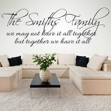 family wall quote stickers uk. family name personalised \u0026 friends quotes wall sticker home art decals quote stickers uk k